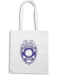 T-Shirtshock - Bolsa para la compra TM0050 city of norton shores police citta