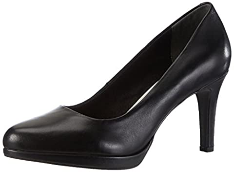 Tamaris 22428, Escarpins Femme, Noir (Black Leather 003), 40 EU