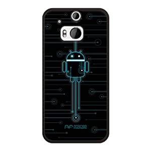 HTC One M8 Case, Cruzerlite Print Cases (PC Case) Compatible with HTC All New One (M8) 2014 - Foundry Circuitry