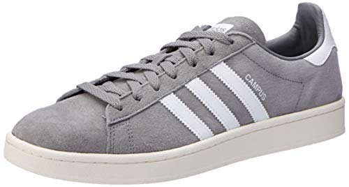 adidas Herren Campus Sneakers, Grau (Grey Three F17/ftwr White/chalk White), 42 EU