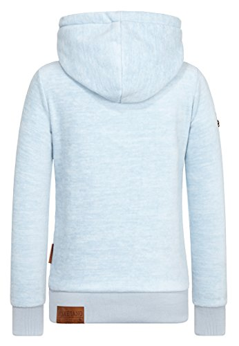 Naketano Female Hoody Glitzermuschi Heavenly Ice Melange