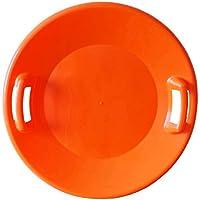 SULOV TALIR-4, Disco Neve Unisex Bambini, Arancia, 61 x 61 x 7.5 cm