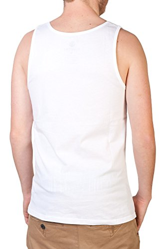 Element Basic Singlet Fitted Tank Top (onyx White