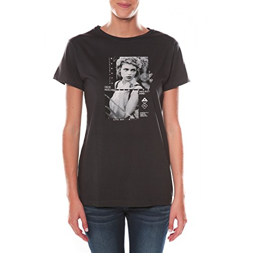 Deeluxe Damen T-Shirt Schwarz