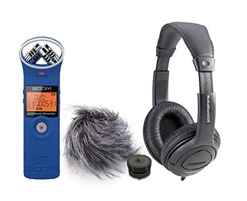Zoom H1Recorder BL Set Digital/Kopfhörer/Zubehör