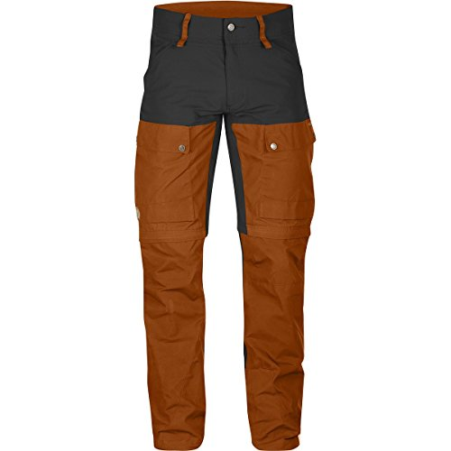 FjallRaven Pantalon de voyage Keb Gaiter Trousers Long Autumn Leaf