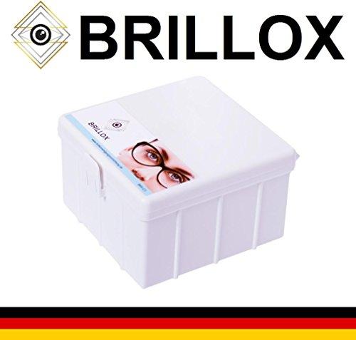 Brillenreiniger – Bürstenbetrieben – Neue Generation – BrillenreinigungsBox – kein Ultraschallgerät BRILLOX BRV-C1