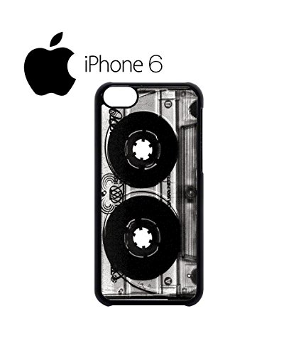 Cassette Retro Vintage 90's Cool Swag Mobile Phone Case Back Cover for iPhone 6 Black Blanc
