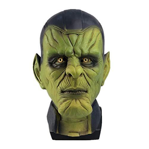 AJXKA Scary Evil Clown Maske Double Face Latex Halloween Kostüm Party Maske Für Maskerade Geburtstagsfeiern Karneval Dekorationen (Halloween 3 Myers Michael 2019)