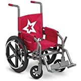 American Girl NEW Berry Wheelchair - Red With Star - Inner Ster Logo by American Girl