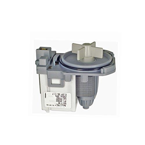 Europart 10002340 Laugenpumpe Pumpe Magnettechnikpumpe Waschmaschine auch Balay Constructa Crolls Hitachi Lynx Neckermann Loyds passend wie Bosch Siemens 145338 144971 144511 144617