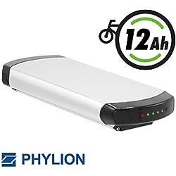 Phylion Akku XH370-10J für E-Bike Pedelec 37V 12Ah