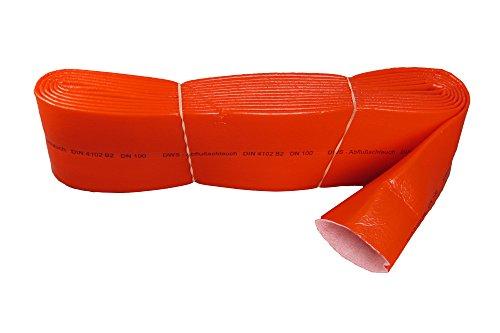 Sanitaer PE Isolierschlauch DN100 110 rot Rohr Dämmung Schlauch Isolierung Rohrisolierung Schutzschlauch Isolation Rohrdämmung (w. Stabilo)