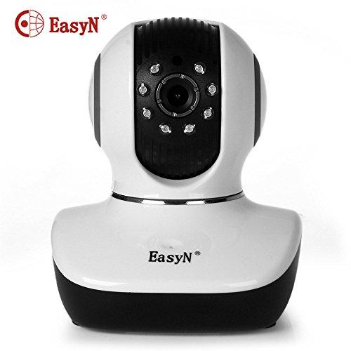 EasyN Mini 10D 1.0MP H.264CMOS kabellose IP-Kamera mit Pan/Tilt Night Vision Überwachungskamera