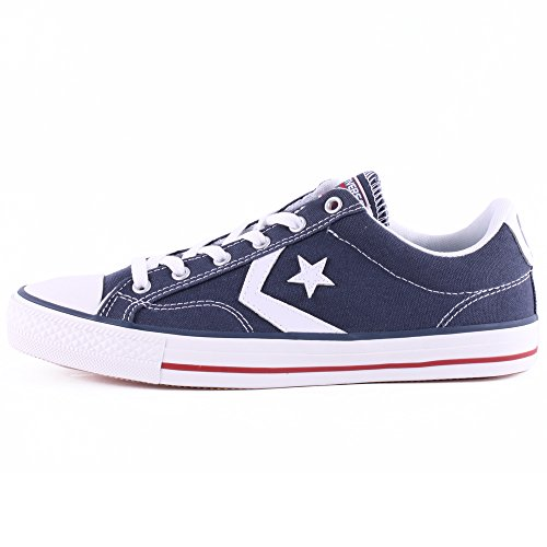 Converse Star Player, Baskets  mixte adulte Bleu (Marine/Blanc)
