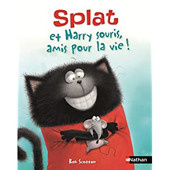 Splat et Harry Souris, amis pour la vie ! Album Dès 4 ans