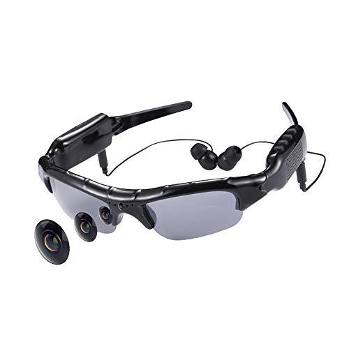 Preisvergleich Produktbild Smart product Intelligente Bluetooth-Videobrille,  kabellose Multifunktionsbrillen mit universeller polarisierter Sonnenbrille,  1080P-Sportkamera,  geeignet zum Fahren,  Angeln im Freien,  Reisen ZDDAB