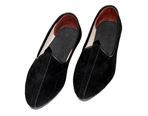 Mens-Classic-Velvet-Juttis-Shoes