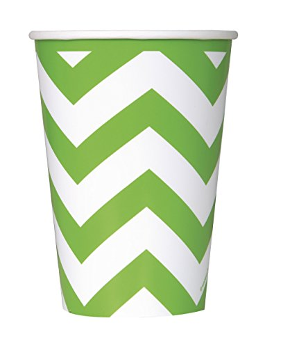(Unique Party 354-ml-Chevron-Papierbecher)