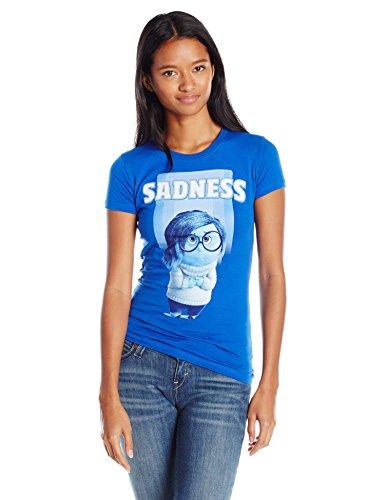 Disney Juniors Inside Out Sadness T-Shirt - Blau - XX-Large
