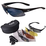 'Mile High' Aviate Rx PILOT SUNGLASSES FRAME for Spectacle Wearers With Interchangeable Lenses, Including Low Light. Also Suitable for Sports & Leisure Use. UVA / UVB (UV400) protection