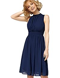 Misfit London Elizabeth' Navy Oh So Elegant Swing Dress