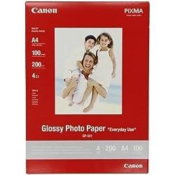 Canon GP-501 Papier Photo Glacé Format A4 (100 feuilles)