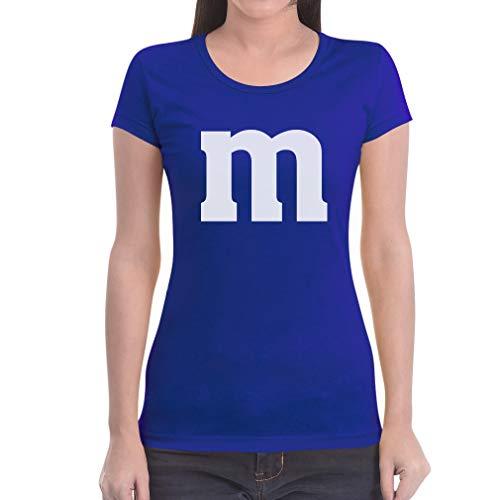 Kostüm Kleine Gruppe - Süßes Outfit m Damen Karneval Fasching JGA Gruppen-Kostüme Frauen T-Shirt Slim Fit Large Blau