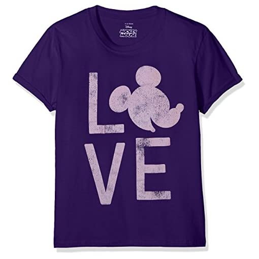 Disney-Girls-Mickey-Love-T-Shirt
