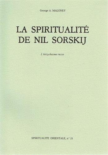 La spiritualité de Nil Sorskij : L'hésychasme russe