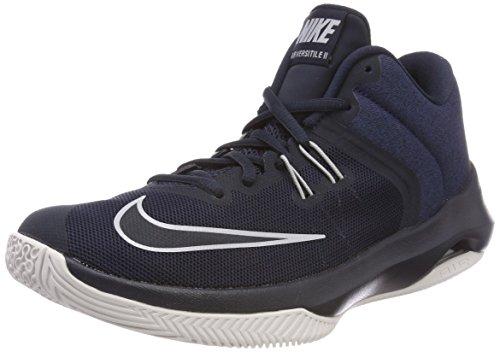 Nike Herren Basketballschuh Air Versitile II Fitnessschuhe, Mehrfarbig (Dark Obsidian/Wolf G 401), 43 EU