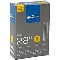 Schwalbe SV20EL Lightweight Tube Presta 60 mm Valve - 27 x 1.00-28 x1.00 Inches, 700 x 18-25C