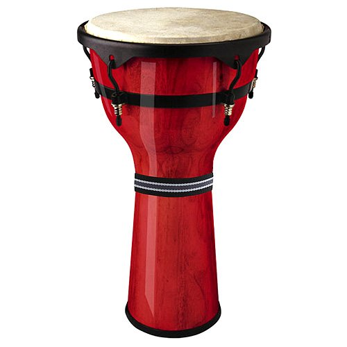 STAGG DWM-13-R 13 WOODEN DJEMBE Opiniones RED