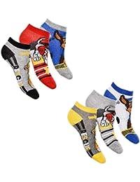 Calcetines para niño, calcetines, patrulla canina, 6 pares