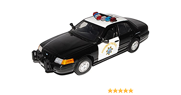 Motormax Ford Crown Victoria California Highway Patrol Police Polizei 2001 1 18 Modellauto Modell Auto Spielzeug