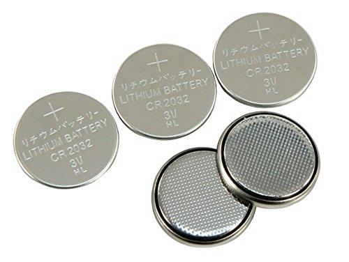 Agli ioni di litio-pila a bottone CR-2032 3 V, (Agli Ioni Di Litio A Bottone)