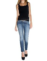 PLEASE - P95 femme wrinkled jeans