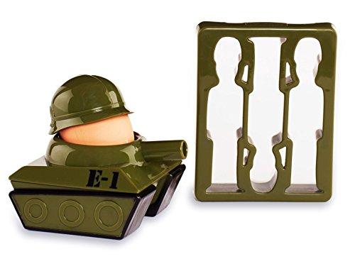 Flashpoint 556178 Militär Eierbecher und Toastschneider (Männer Lustig, Panzer)
