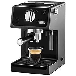 DeLonghi ECP 31.21 Cafetera Independiente, semi-automática, 1100 W, Negro
