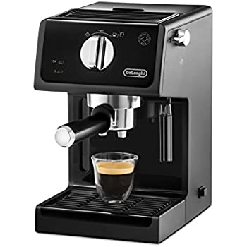 this item delonghi ecp3121 italian traditional espresso coffee maker black