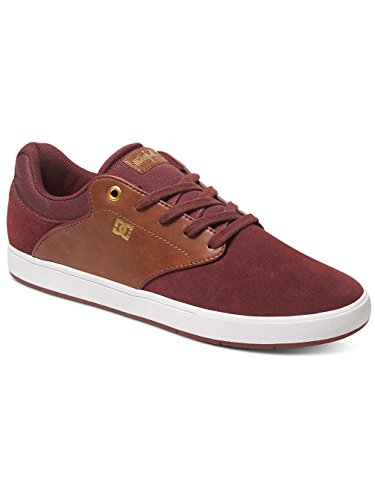 DC Universe Mikey Taylor, Baskets Basses Homme Rouge - Burgundy