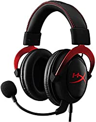 HyperX KHX-HSCP-RD Cloud II - Gaming Kopfhörer (für PC/PS4/Mac) rot
