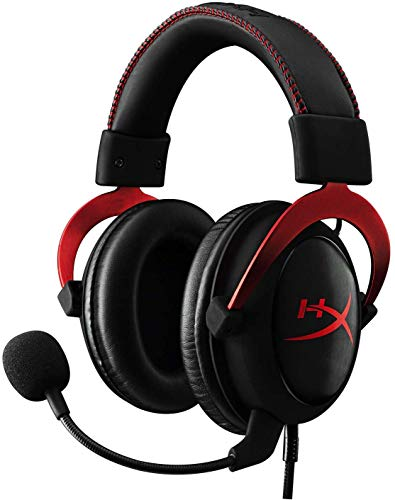 HyperX KHX-HSCP-RD Cloud II - Gaming Kopfhörer (für PC/PS4/Mac) rot