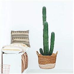 Les Trésors De Lily [P5286 - Planche de Stickers 'Cactus' Vert - 50x70 cm