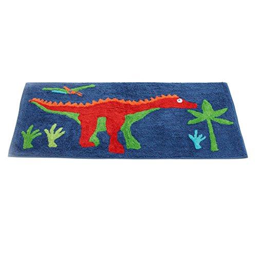 Jiggle & Giggle süße Kinderbettwäsche Dinosaur Schlafzimmer manueller Teppich 100% Baumwolle 50cmx100cm