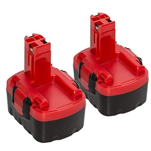 2X Bsioff pour Bosch 14.4V 3.0Ah Ni-Mh Batterie de Remplacement...