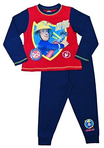 Image of ThePyjamaFactory Boys Fireman Sam Pyjamas W15 (2-3 Years)