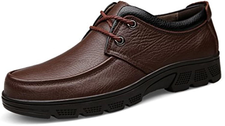 MINITOO Men's Retro Retro Retro Brown Casual Street Walking Shoes UK 7 131479