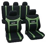 Super Speed grün 900 Schonbezug Sitzbezug Autoschonbezug Schonbezüge für das unten angegebene Fahrzeug