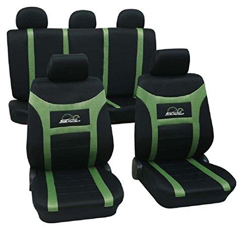 Super Speed grün 900 Schonbezug Sitzbezug Autoschonbezug Schonbezüge für das unten angegebene Fahrzeug (Unten Grün)